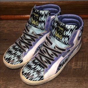 Patterned Puma Hightops